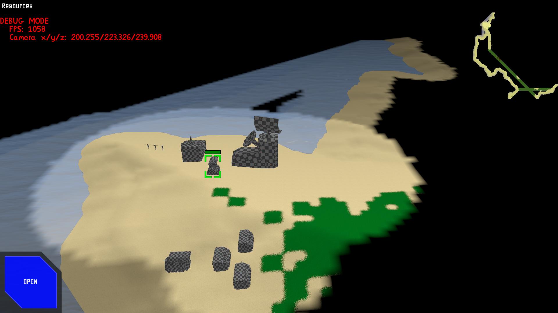 Minimap after exploring